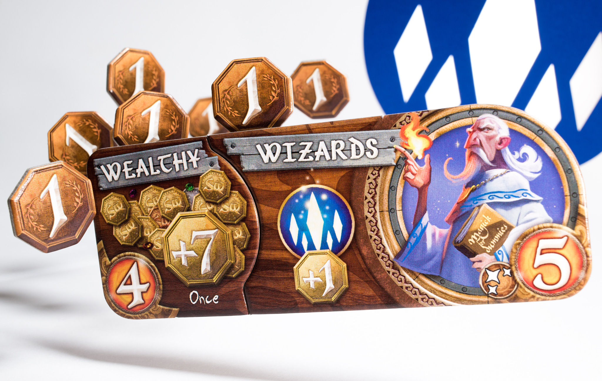 Wealthy Wizard faction from Small World