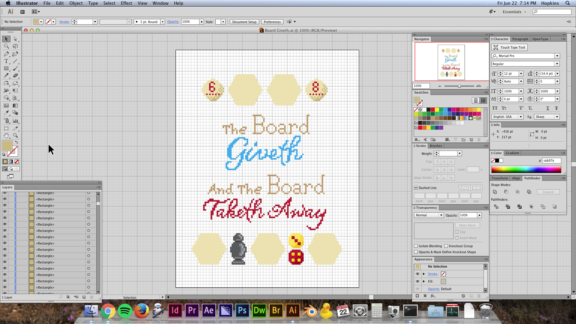 Initial sketches of the cross stitch idea
