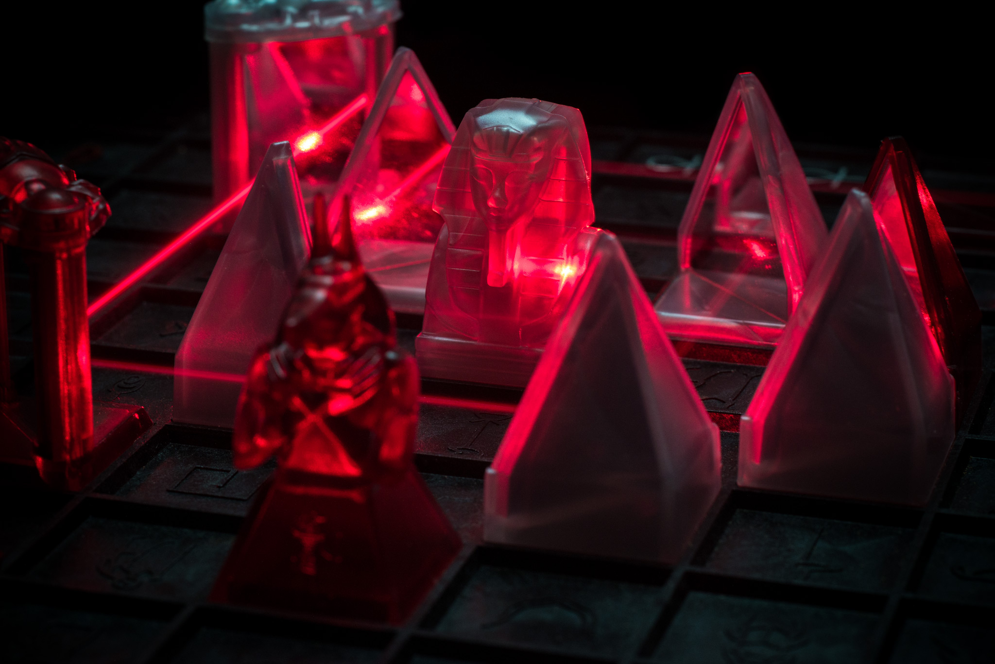 Laser Khet abstract tabletop game