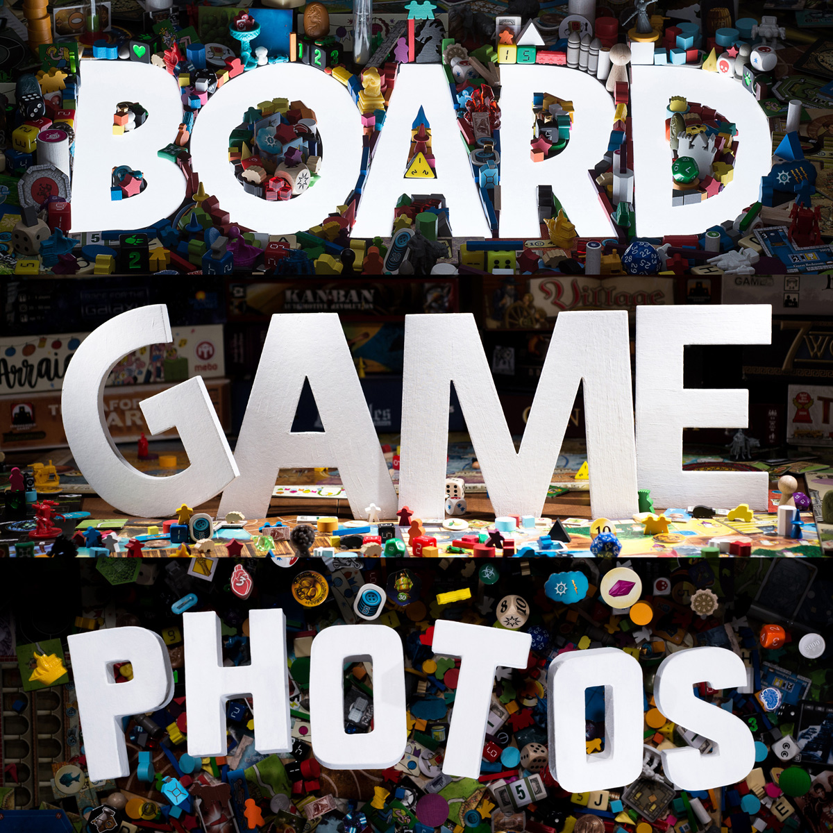Tentative Board Game Photos book cover